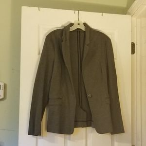 Maurices gray stretchy blazer large